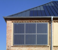 Nechlin Magazine Facade element with custom sized Photovoltaic System