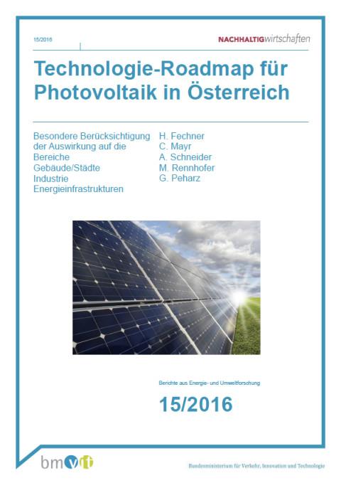 Photovoltaic Technology Roadmap for Austria Part 1