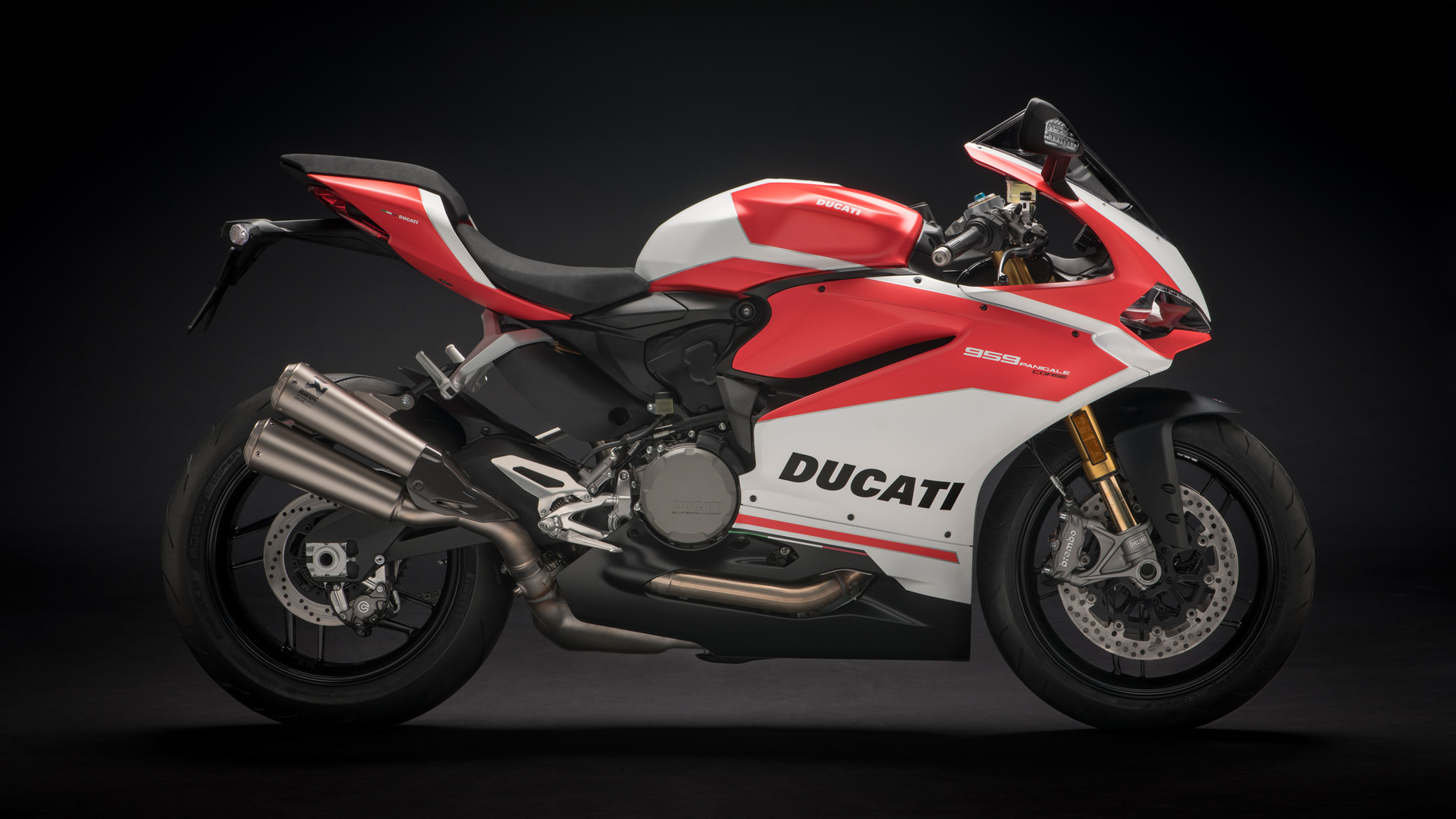 ducati superbike 959 panigale: racing attitude