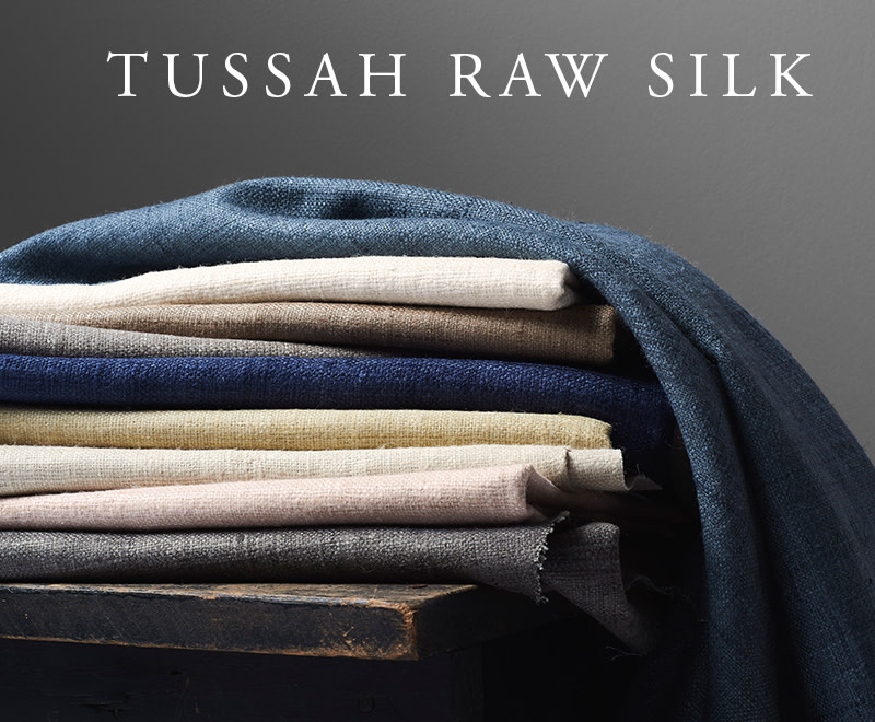 Tussah Raw Silk
