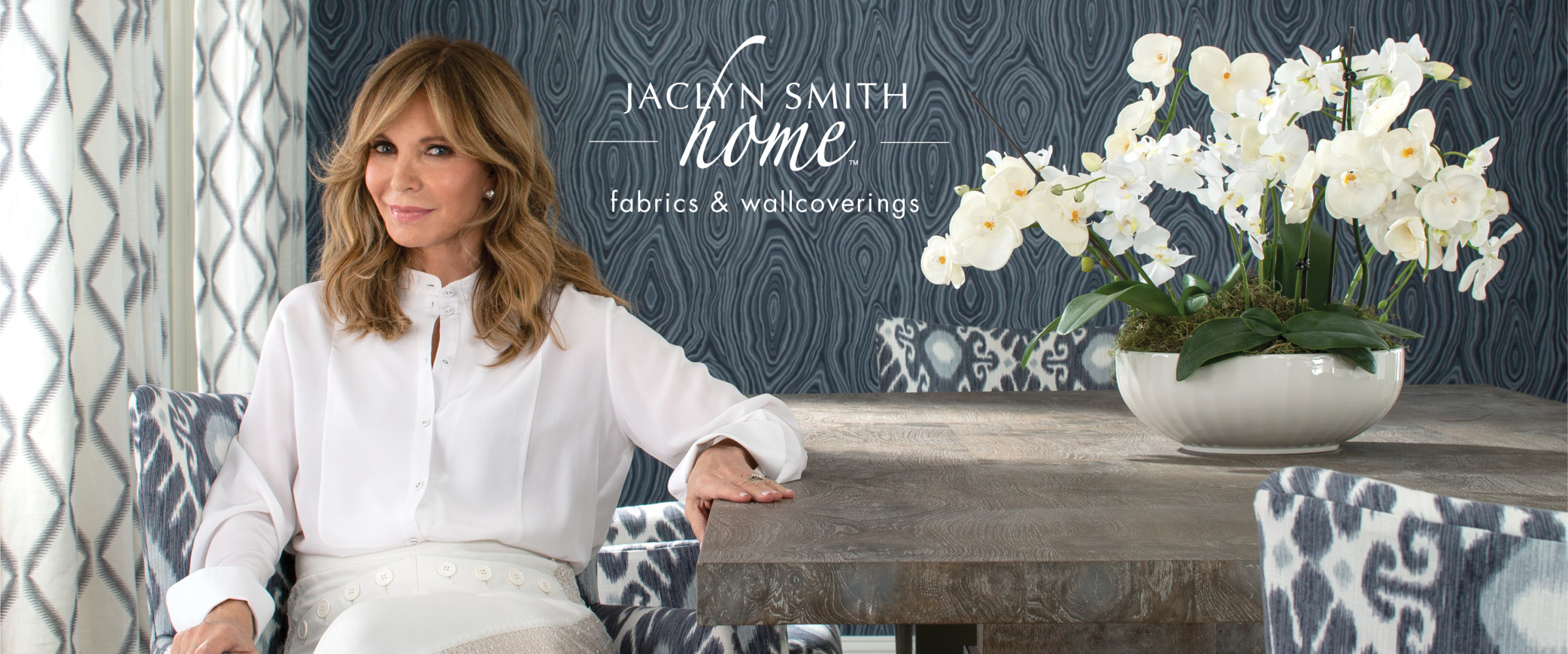 Jaclyn Smith Home Fabrics & Wallcoverings