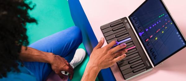 Person playing LUMI