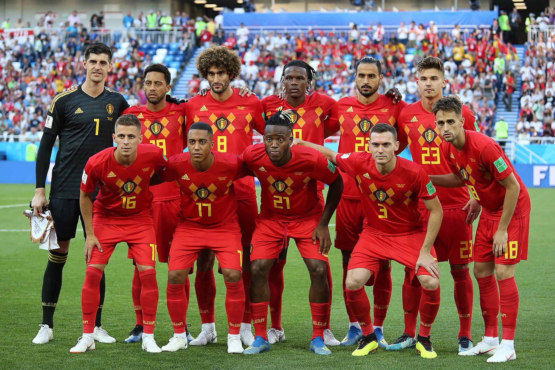 Belgium national football team World Cup 2018