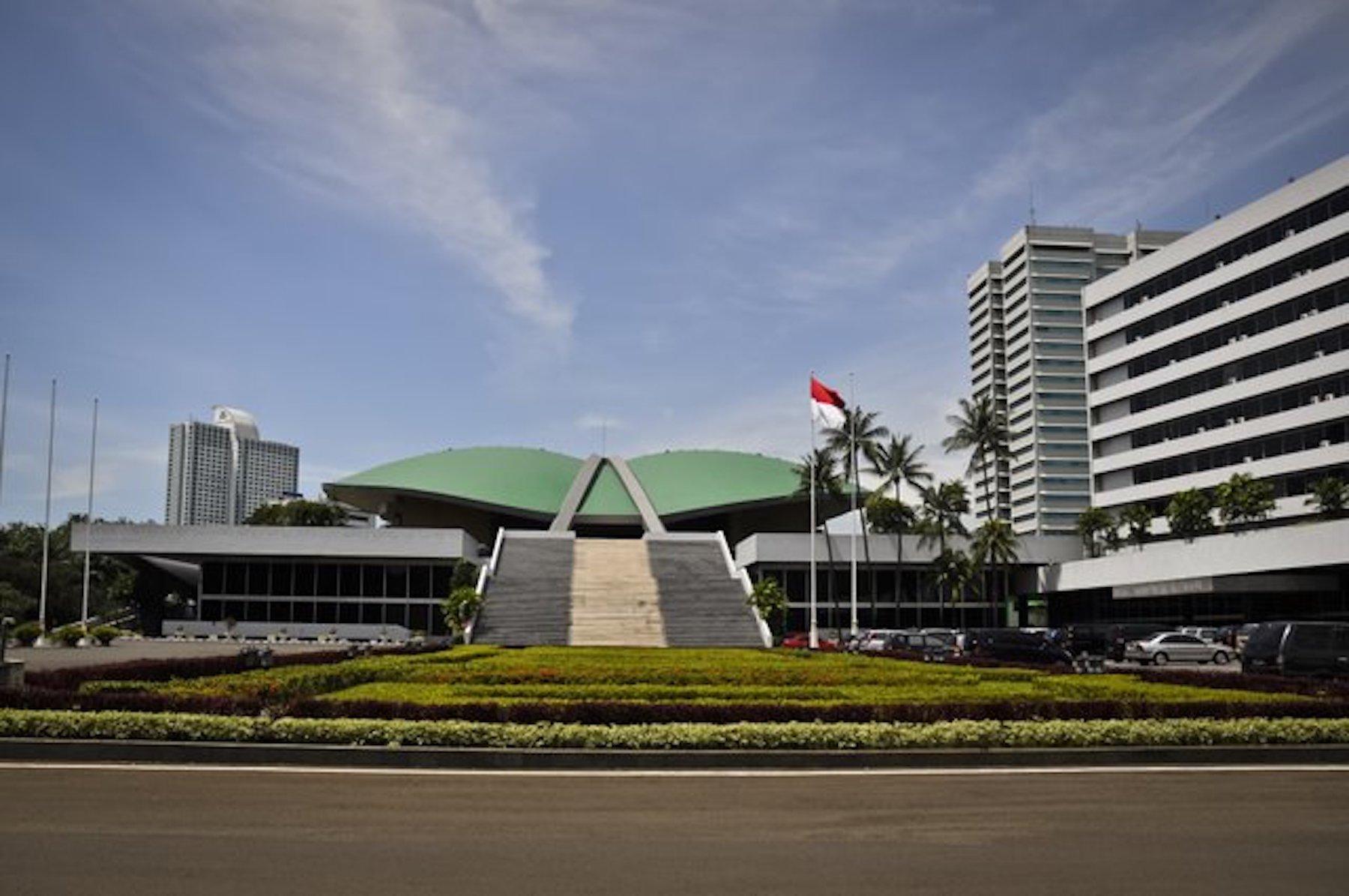 DPR-MPR building complex