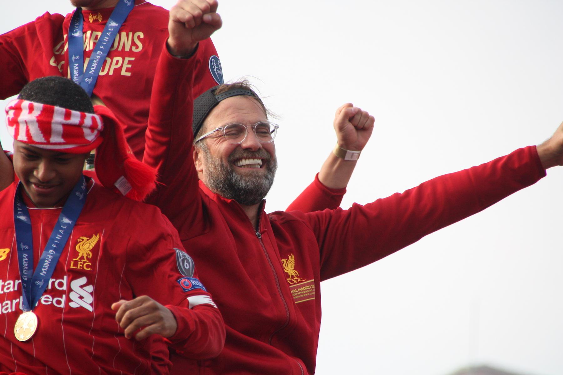 Jurgen Klopp LFC Parade 2019