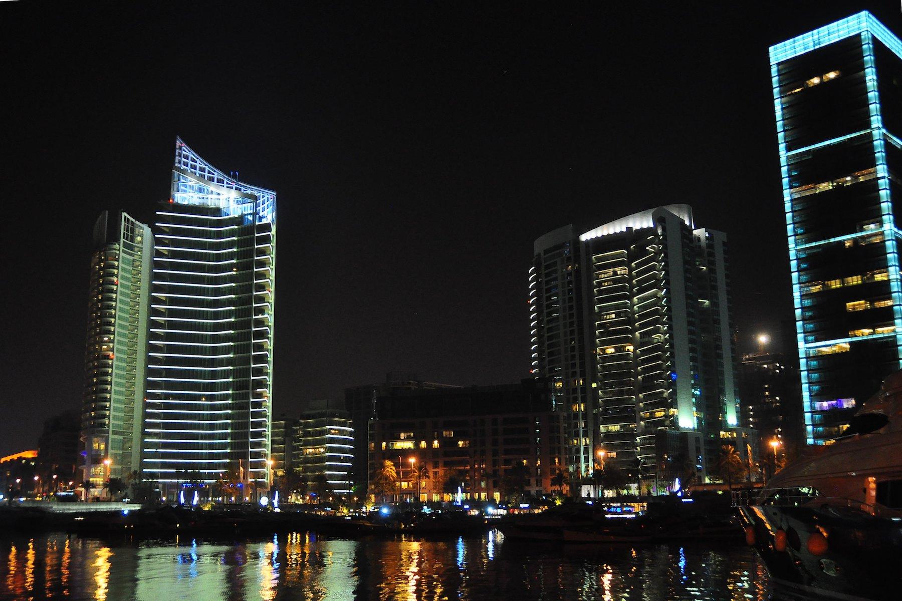 Zaitunay Bay, Downtown Beirut, Lebanon