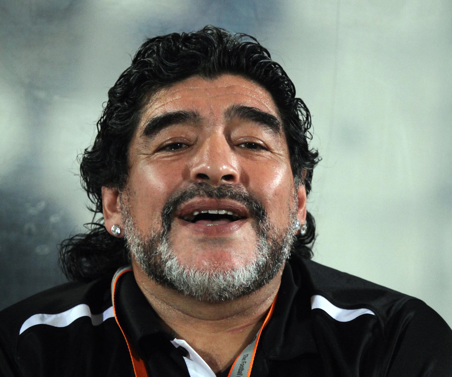 Diego Maradona 2012 2