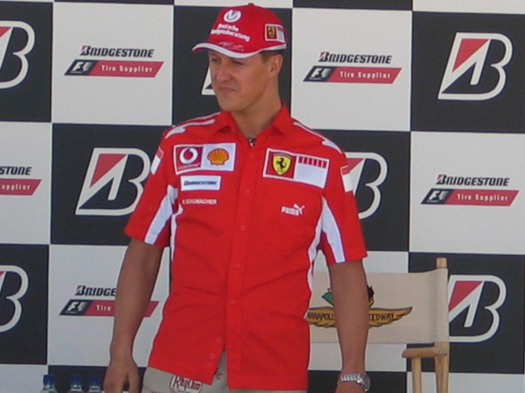 Michael Schumacher-I'm the man