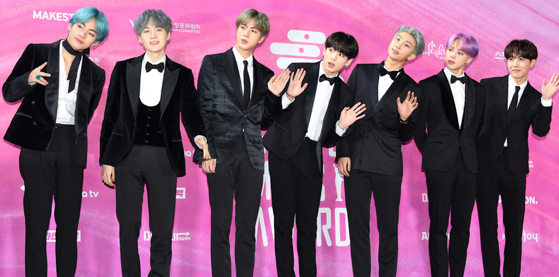 BTS at the 2019 Seoul Music Awards