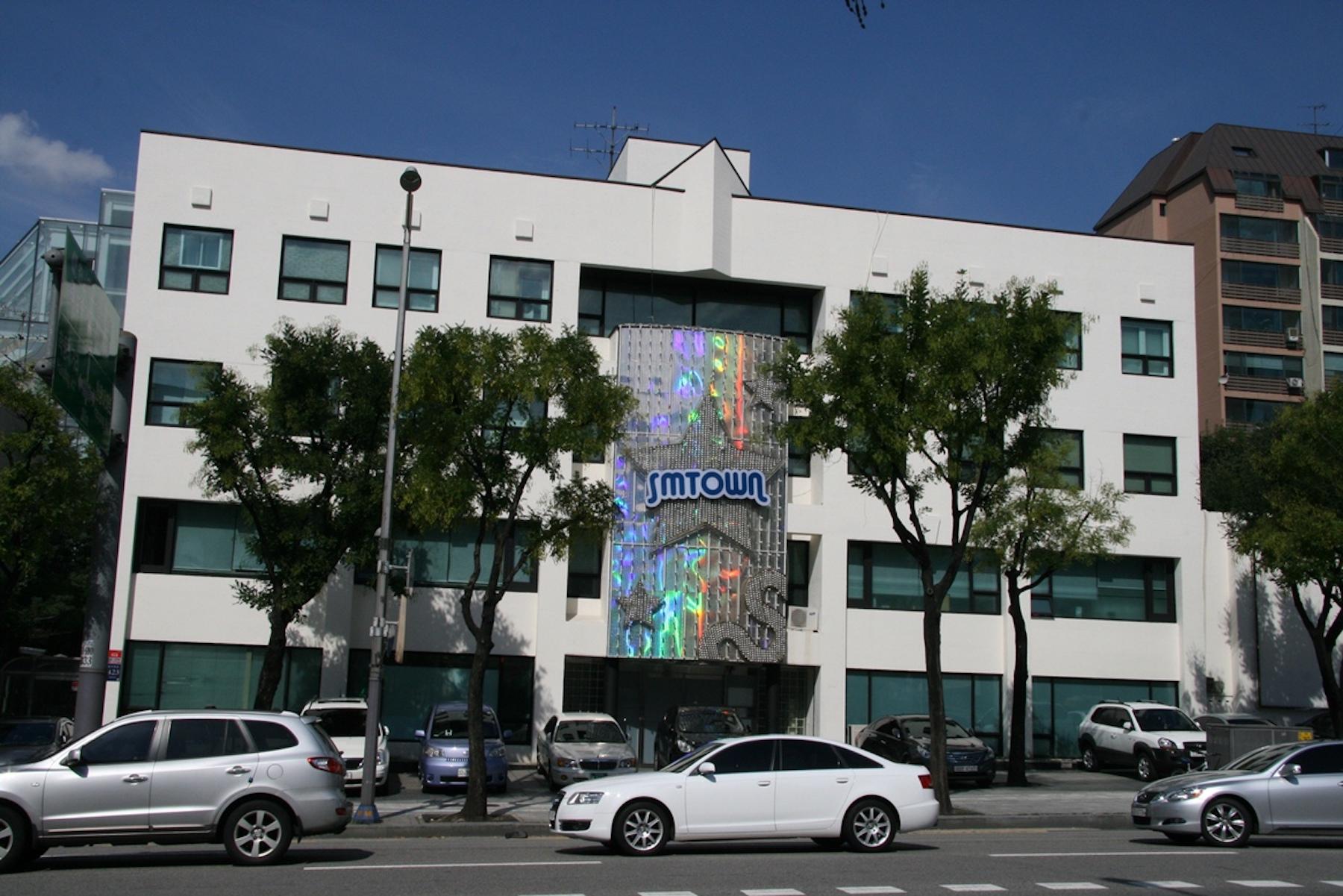 SM Entertainment building 2012