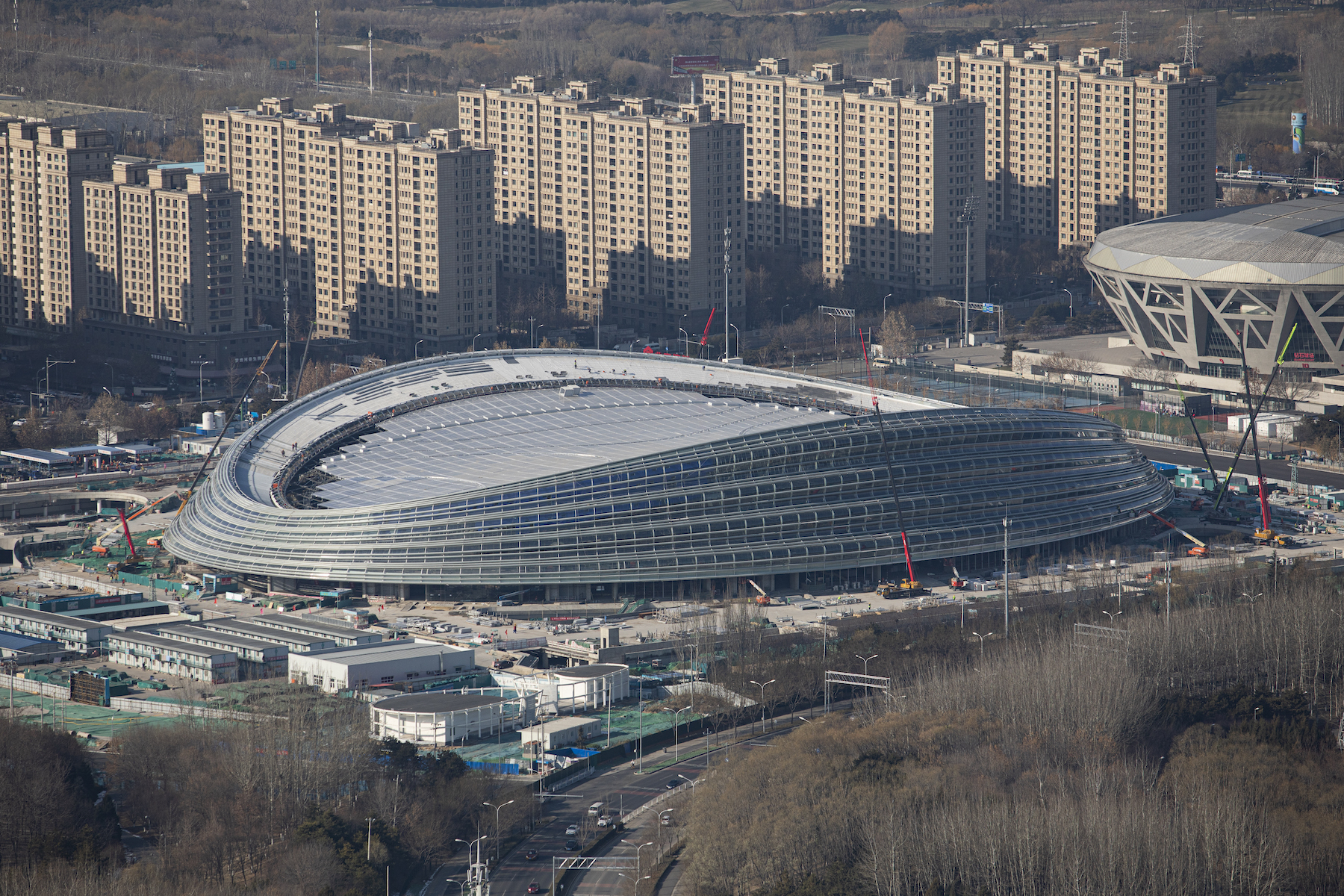 National Speed Skating Oval Beijing 2