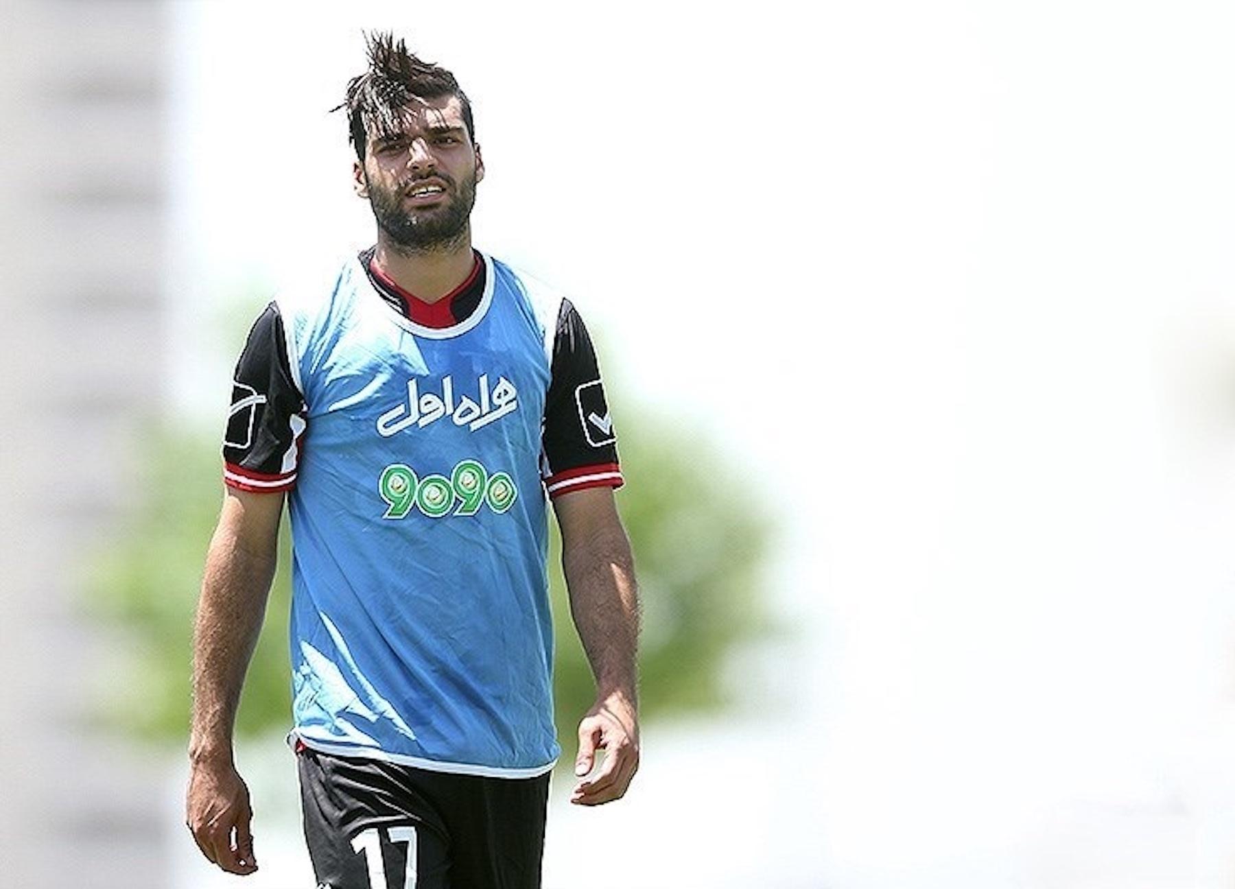 Mehdi Taremi in Iran training