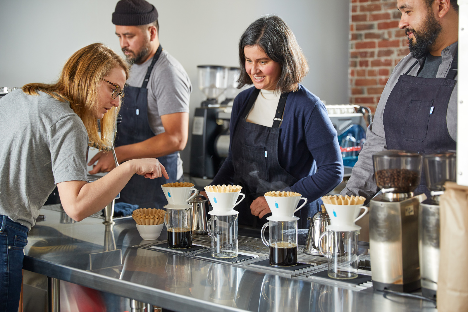 Blue Bottle Training