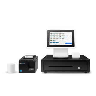 Square Stand Kit with USB Printer