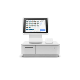 Square Stand Kit with mPOP Cash Drawer and Receipt Printer