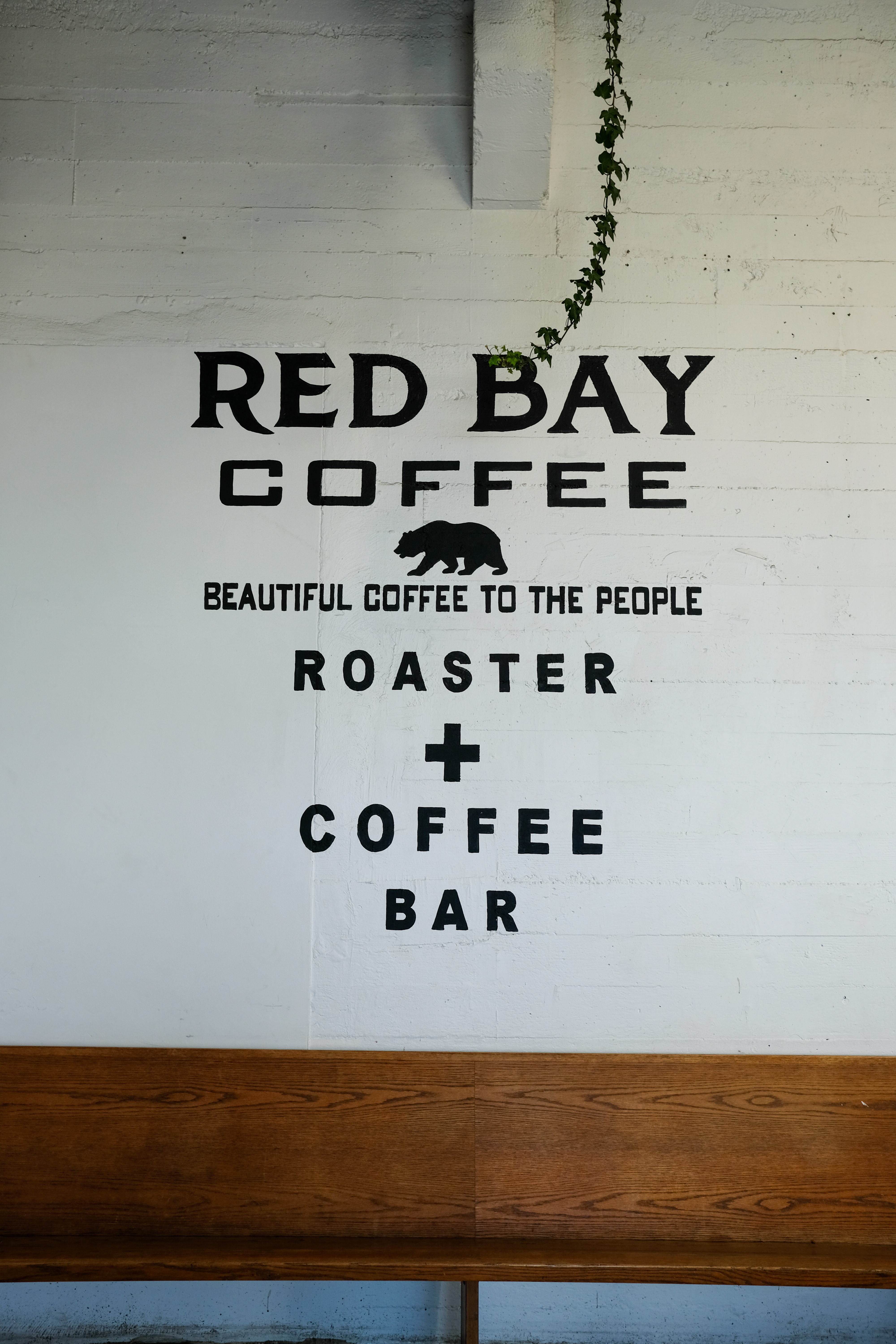 red bay coffee roasting space