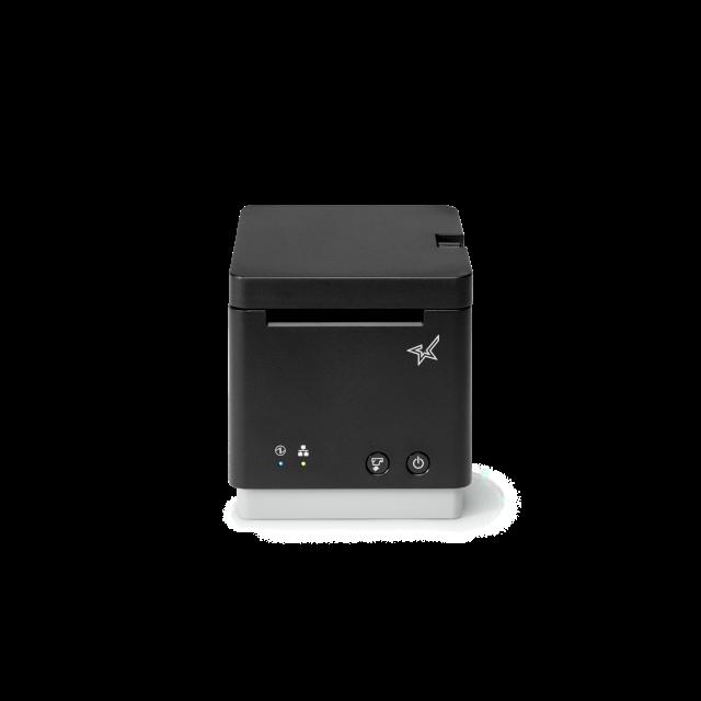 mC-Print2 LAN/USB/Bluetoothインターフェイス搭載 レシートプリンター(ブラック)