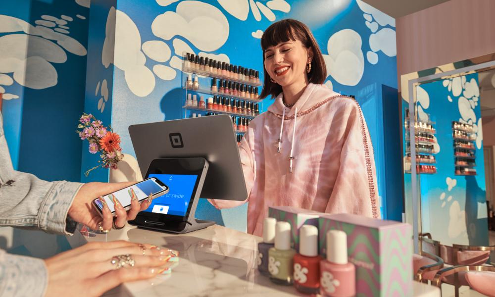 Salon Checkout Experience using Square X2