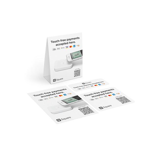 Contactless Payment Marketing Kit