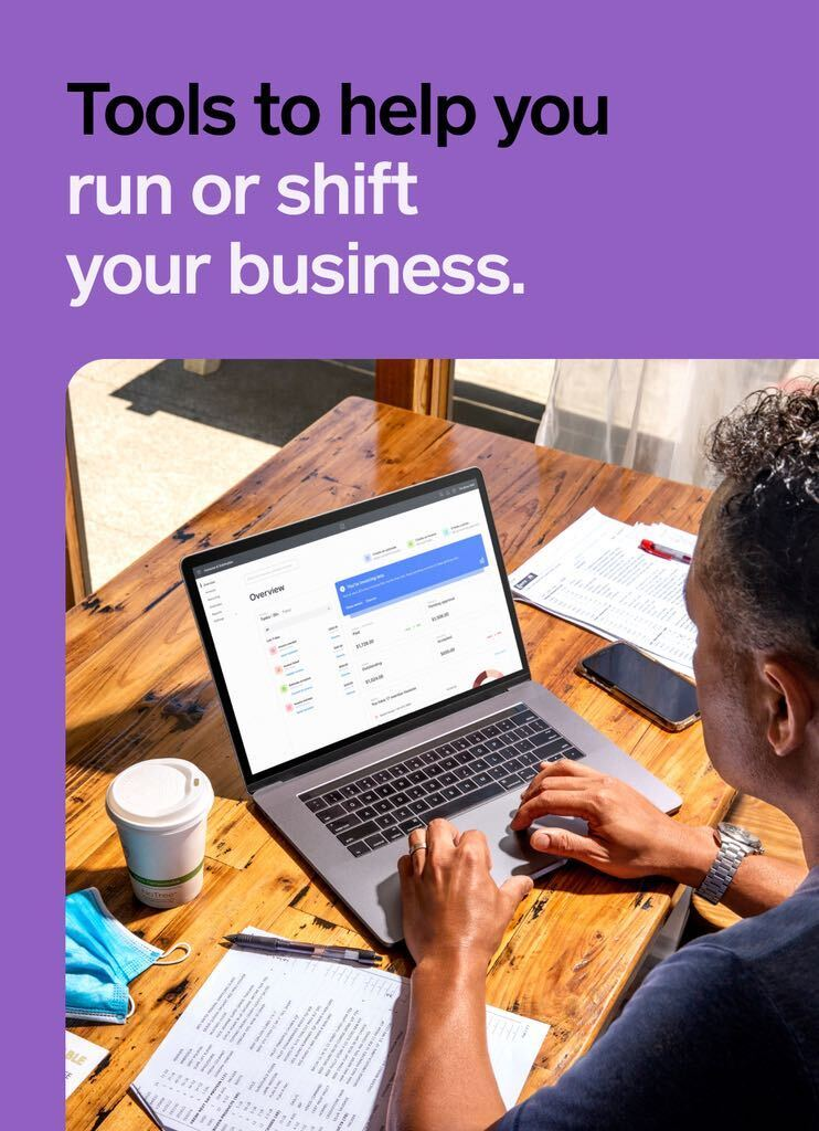 Online tools to help you run or shift your business.