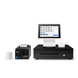 Square Stand Kit with Ethernet Printer