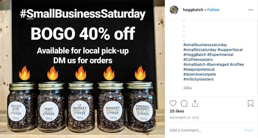 Hogg Batch Coffee Sale