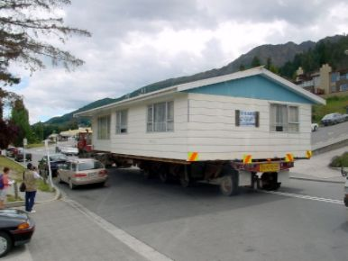moving house on wheels