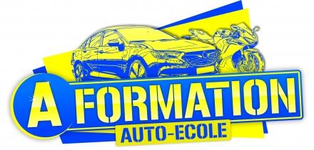 Logo A-Formation - Auto-école
