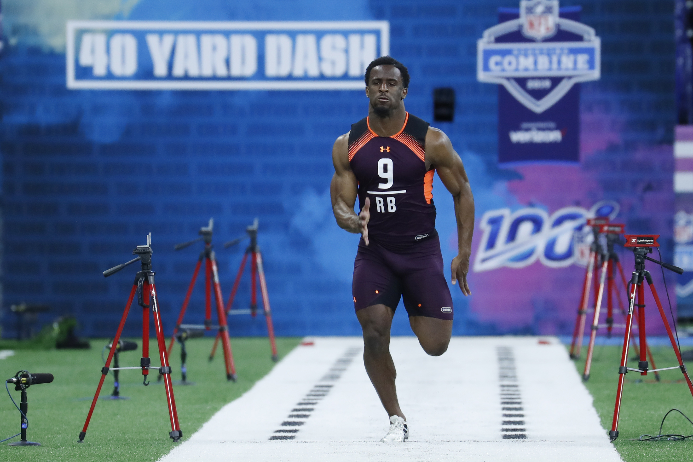 Three Running Backs Who Helped Their Stock At The Nfl Combine The Draft Network