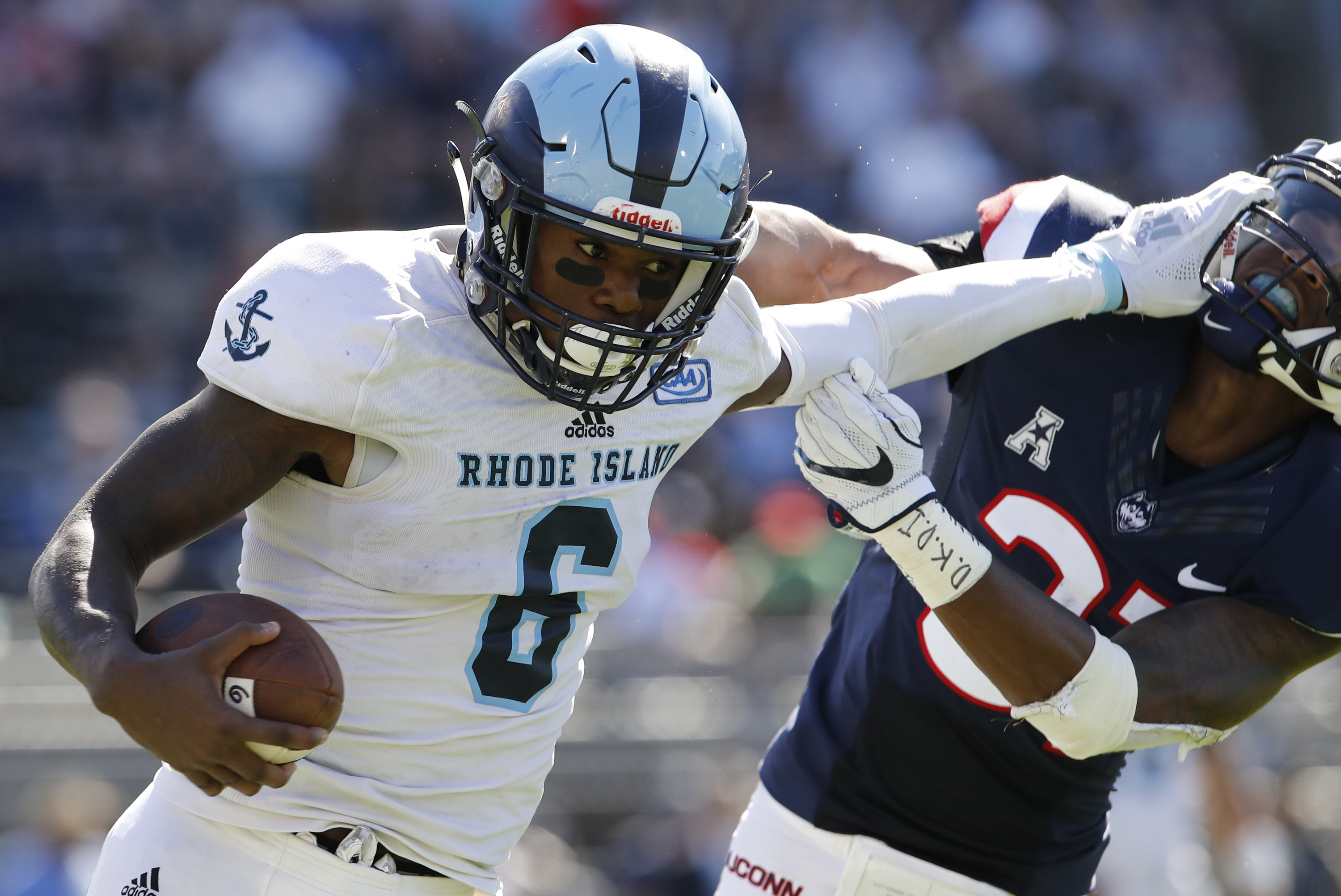 Small State With a Large Talent: Meet Rhode Island WR Aaron Parker ...