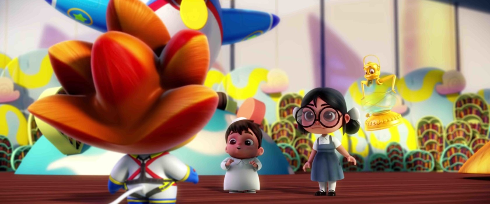 QF's animated TV series promotes learning in children