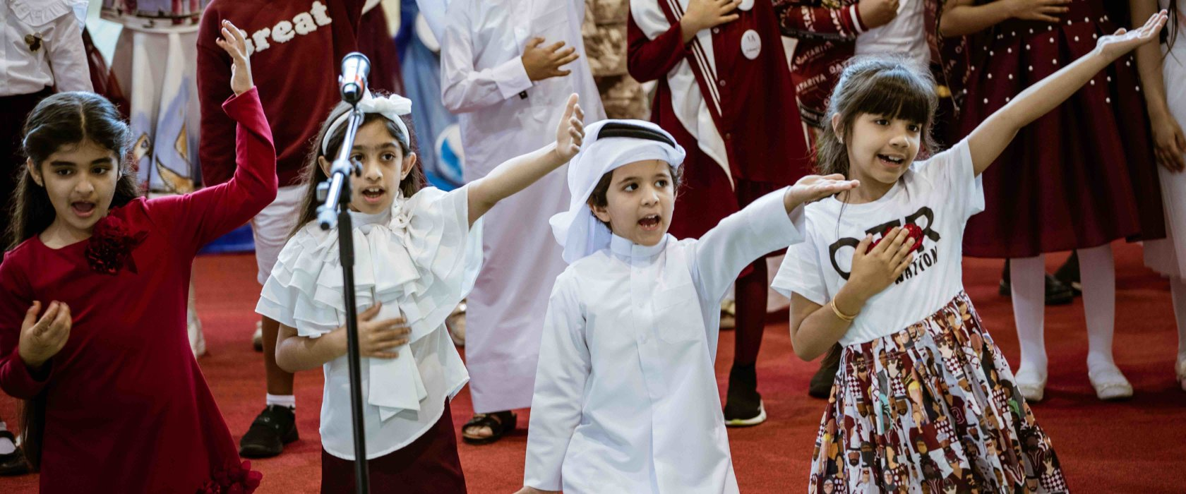 QF schools mark Qatar National Day