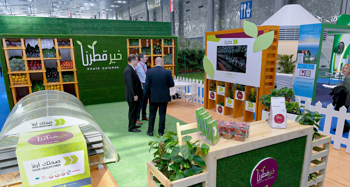 Food security - Greenhouse - Khayr Qatarna