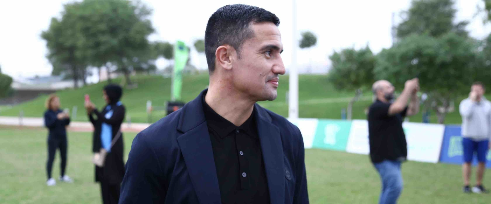 Tim Cahill's giant message for the youth