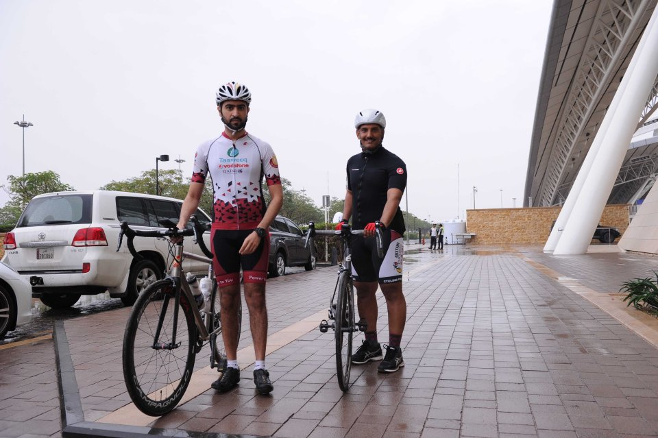 Cycling Around Education City with Qatar Cyclists