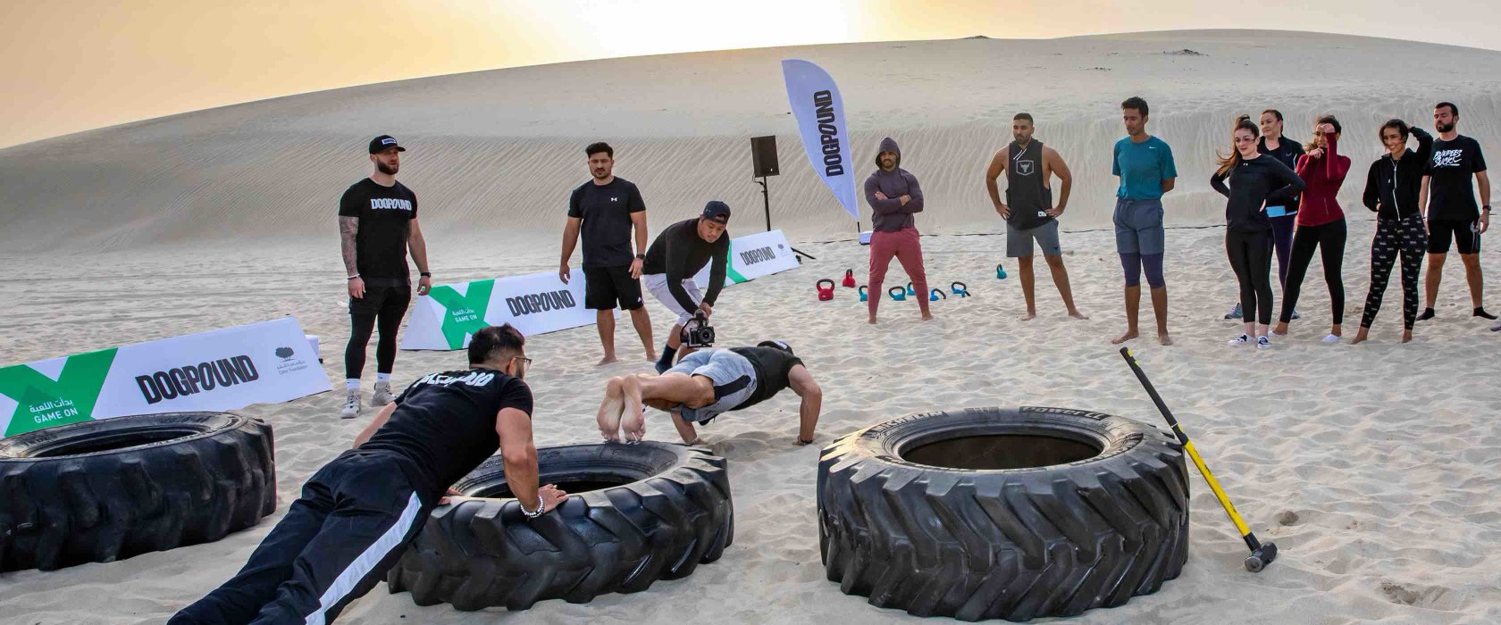 QF takes fitness to the heart of the community