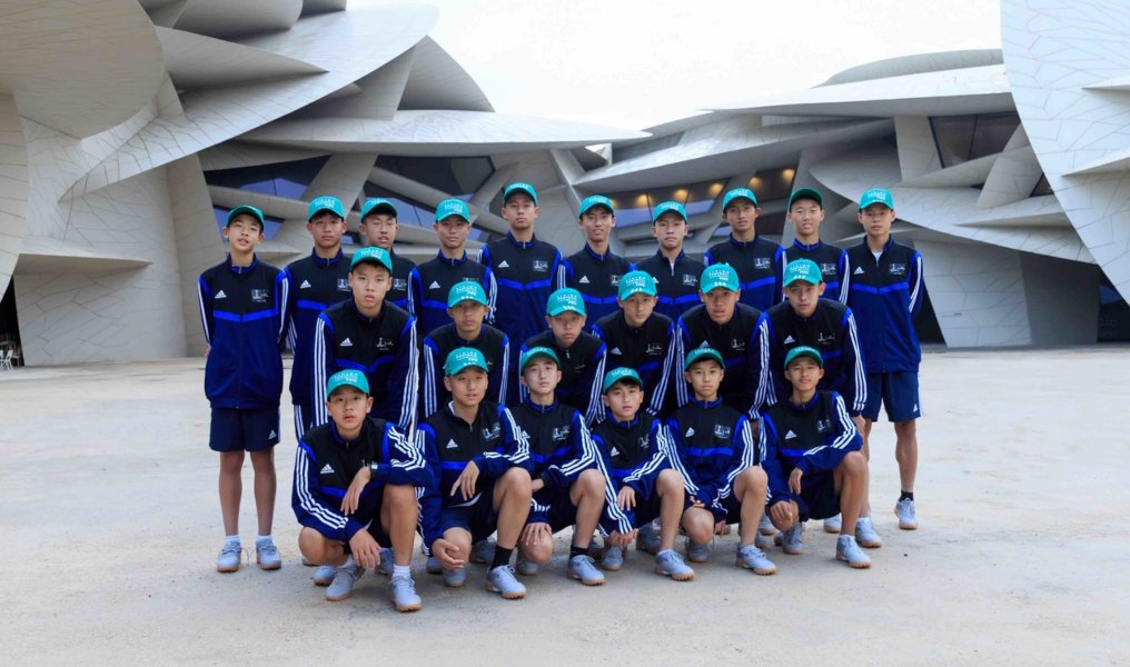 Chinese Youth Football Team Visit - 04