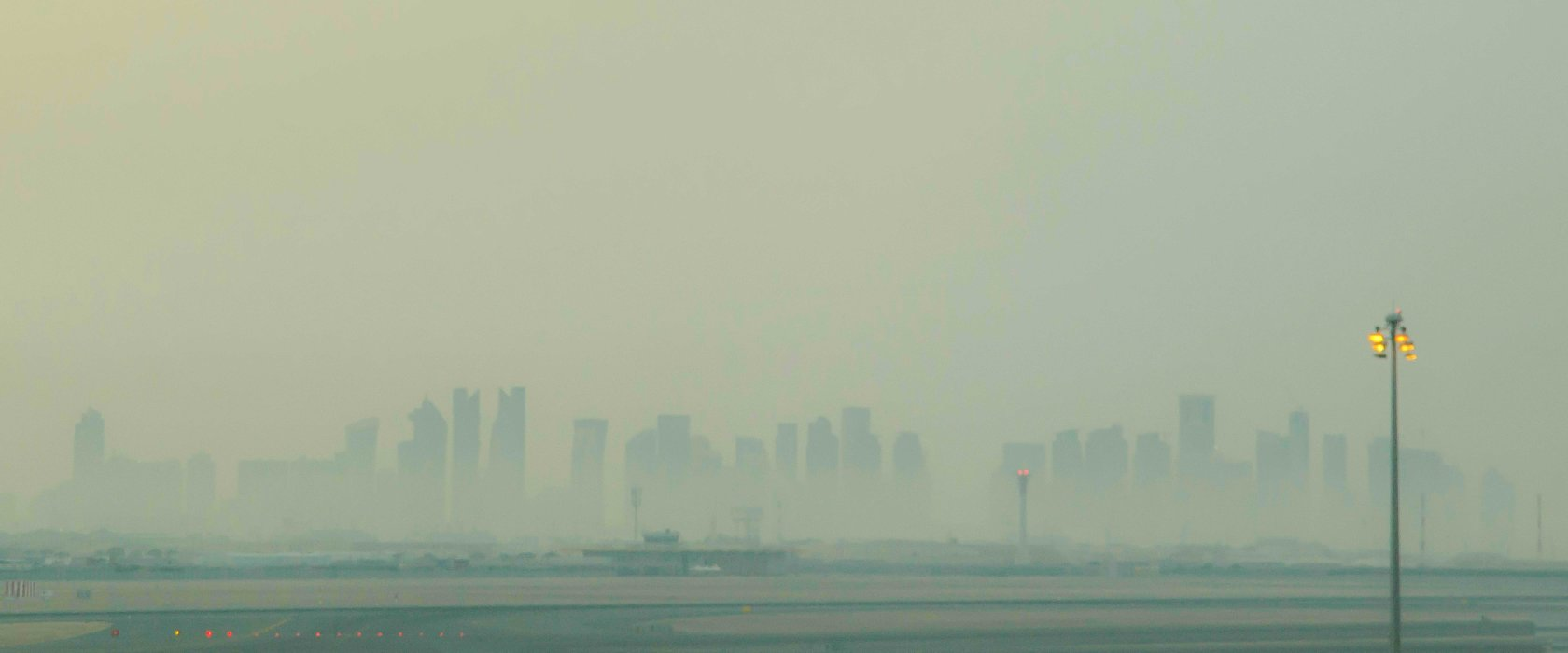 We take the air we breathe for granted, says Qatari researcher