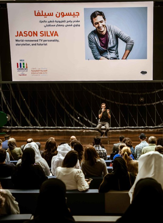 Education City Speaker Series - Jason Silva - v - 2