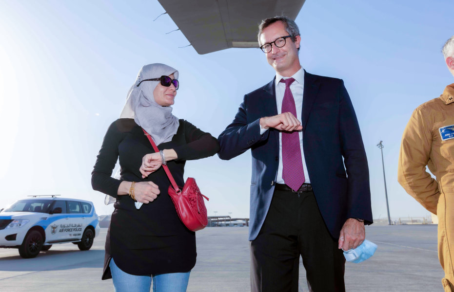 QF, HMC and Embassy of Italy combine to fly COVID-19 patients - 04