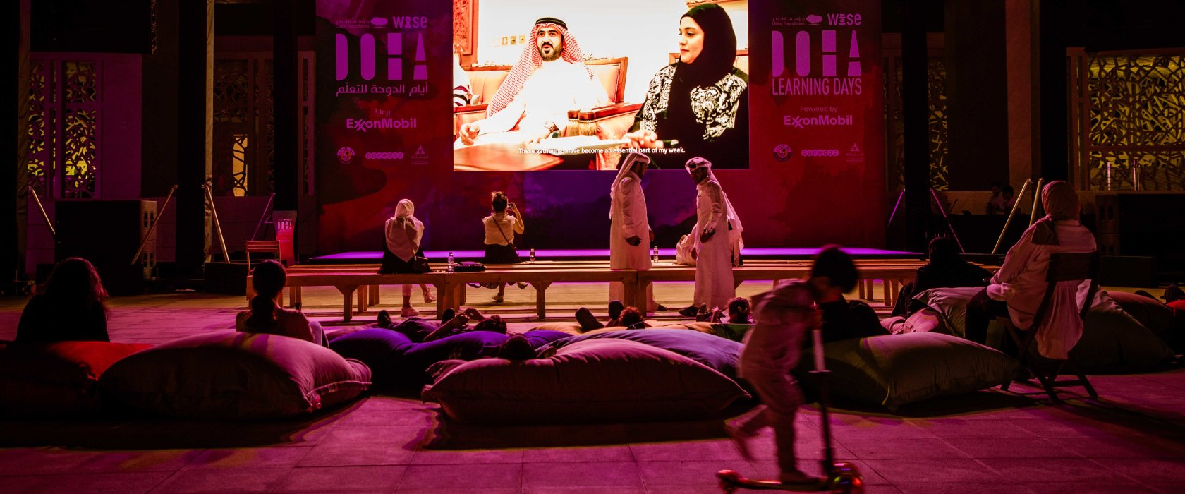 Life in Qatar portrayed on screen