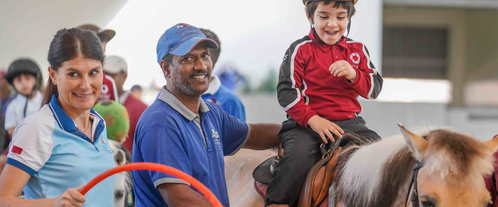 How a QF member is tackling Autism through equine therapy