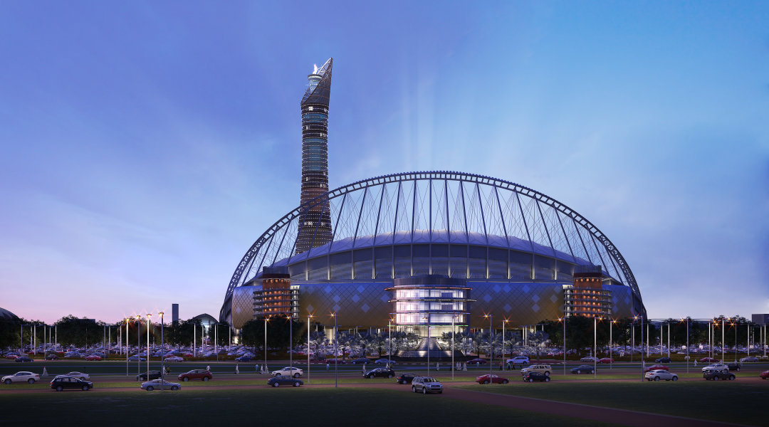 Stadiums - Qatar's Preparations - 2022 FIFA World Cup™ - Khalifa International Stadium