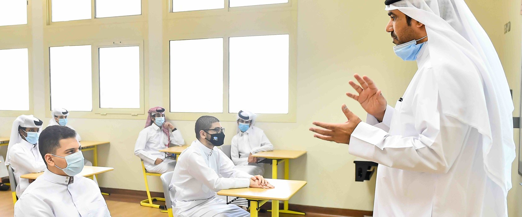 "Qatari men need to become teachers to ""build a better future together"""