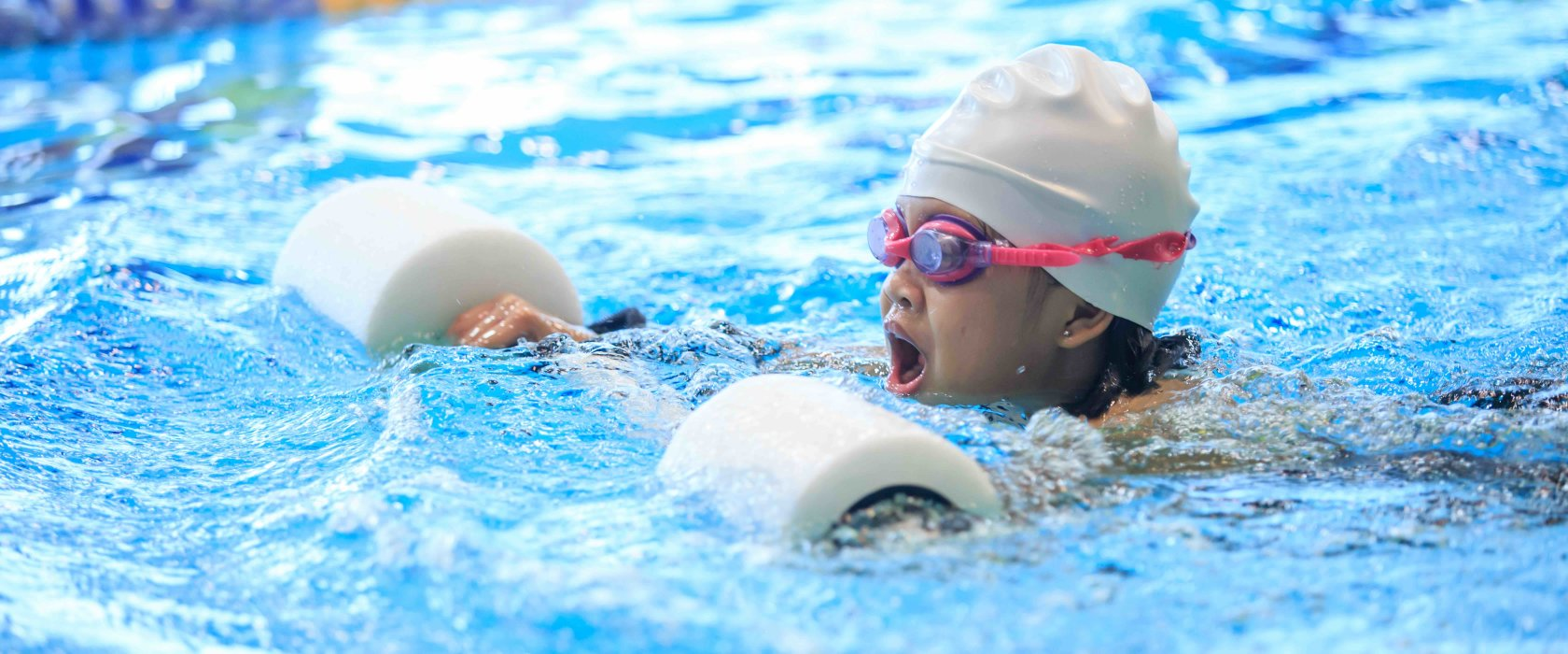 In her own words: The inclusivity and importance of QF's Ability Friendly Swimming Program