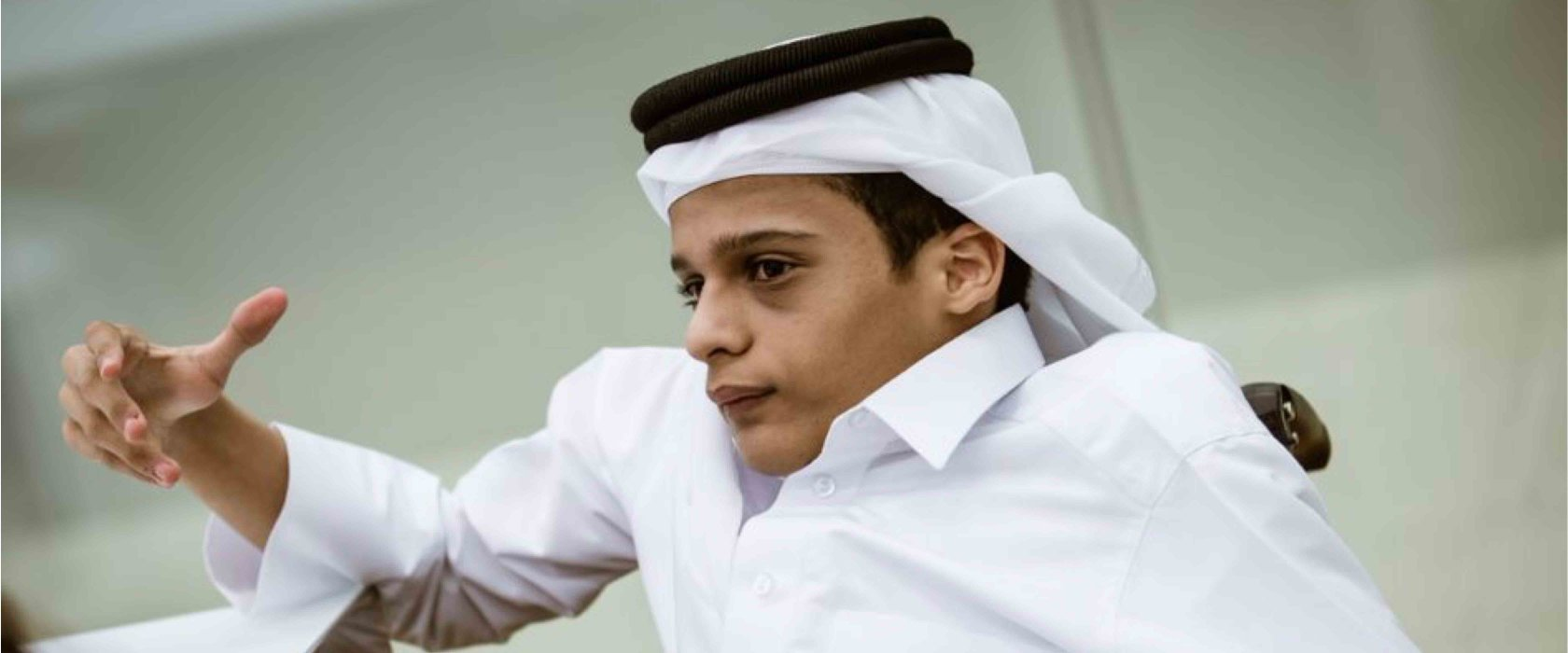 """Qatar Foundation tour revived my dream to find a treatment for my own condition."""