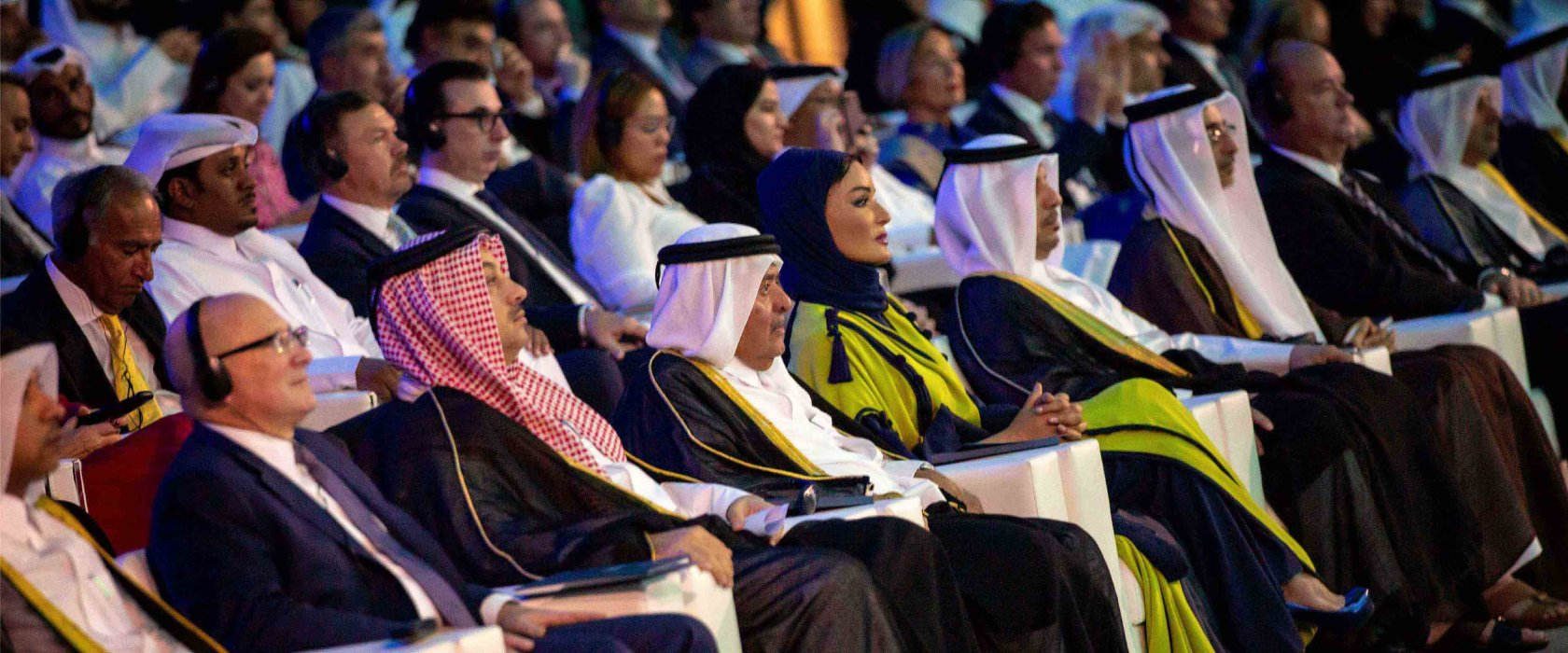 Her Highness Sheikha Moza bint Nasser attends 'Catalyzing The Future' celebration
