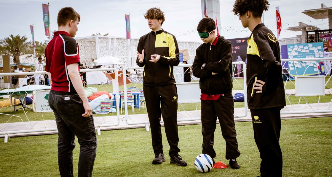 Doha Learning Days - Accessible Football - - 02