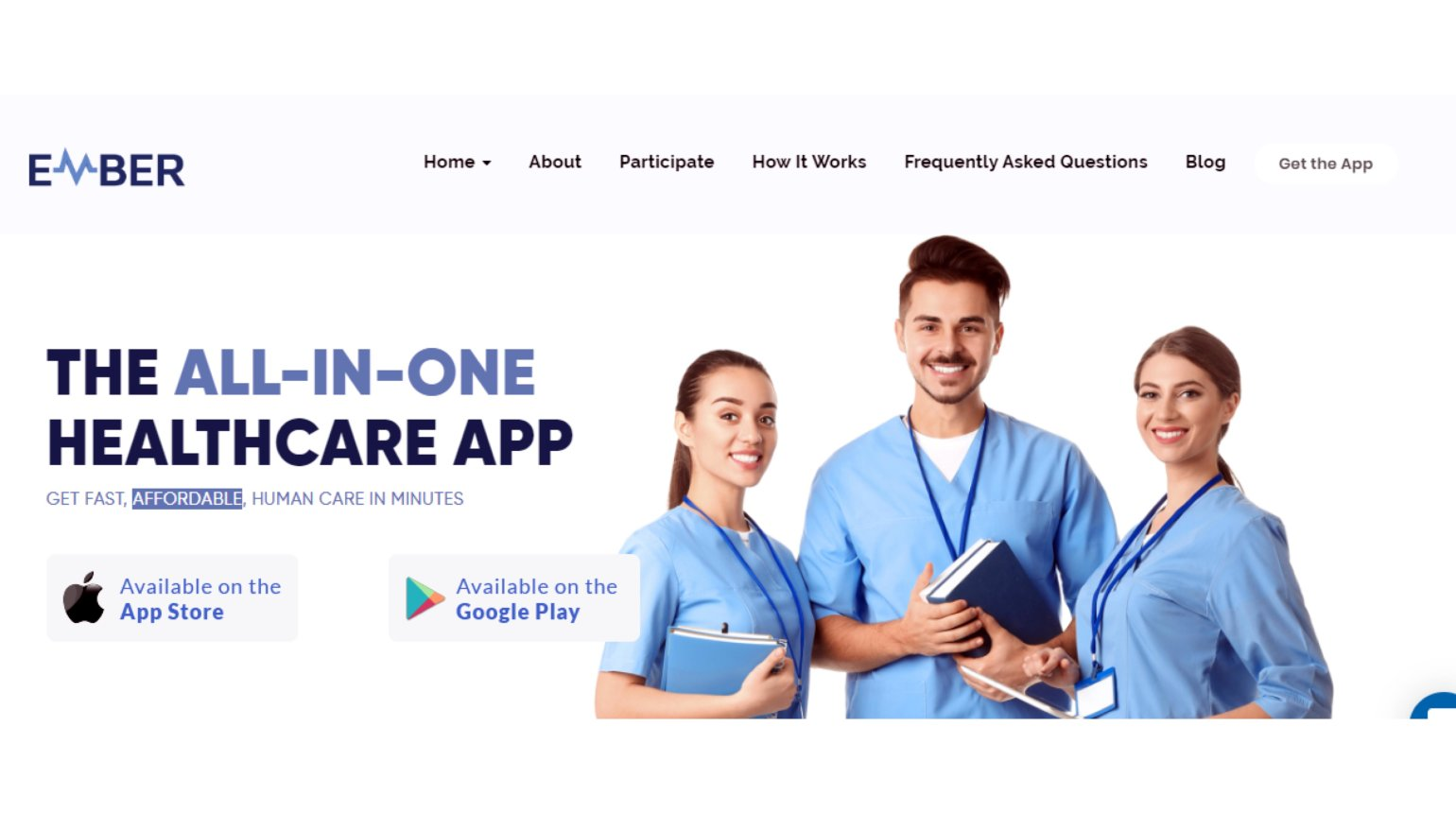 <p>EMBER is a telemedicine platform that can immediately connect patients to doctors and vital medical services.</p>