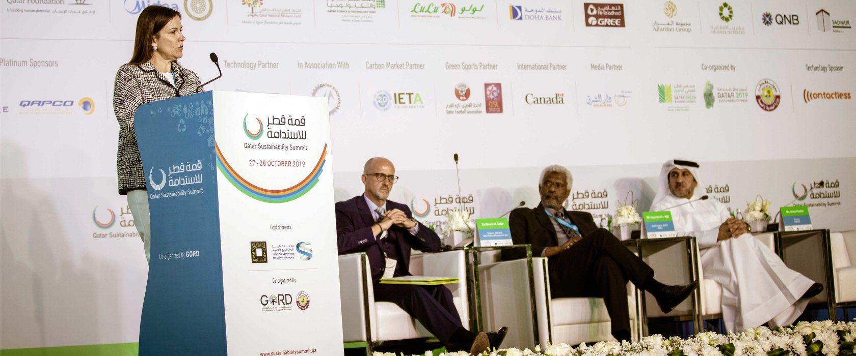 More efforts should be invested to   retain Qatar's research talent, Sustainability Summit told